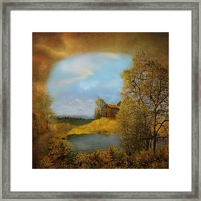 A View To Remember Framed Print by Jeff Burgess