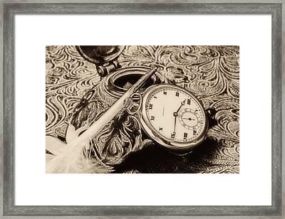 A Vintage Still Life Framed Print