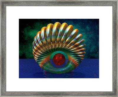 A Voyage To Arcturus Framed Print