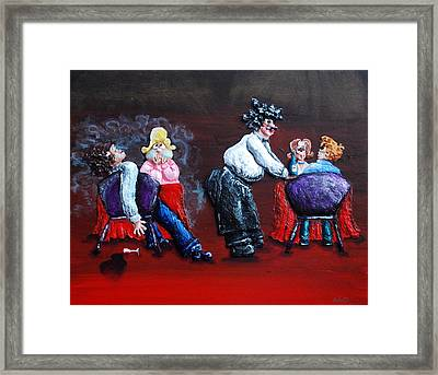 A Waiter's Revenge - Silent But Deadly Framed Print