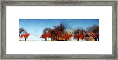 A Walk On The Esplanade Framed Print by Dana DiPasquale