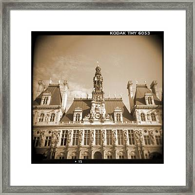 A Walk Through Paris 15 Framed Print by Mike McGlothlen