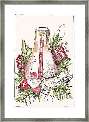 A Warm Christmas Memory Framed Print by Michele Hollister - for Nancy Asbell