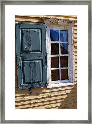 A Window Into The Past Wipp Framed Print