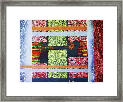 A Window Of Life Framed Print by Adolfo hector Penas alvarado