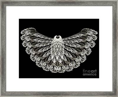A Wise Old Owl Framed Print by Andee Design