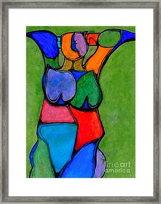 A Womanist Personality Framed Print by Antione Leonard