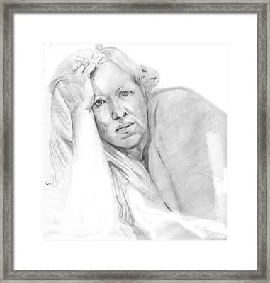 A Working Model  Framed Print