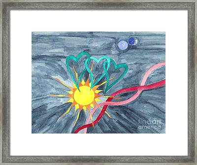 A World View... Framed Print by Robert Meszaros