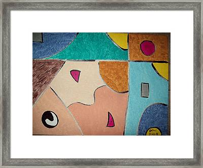 A Young Prince Speaks His Mind Framed Print