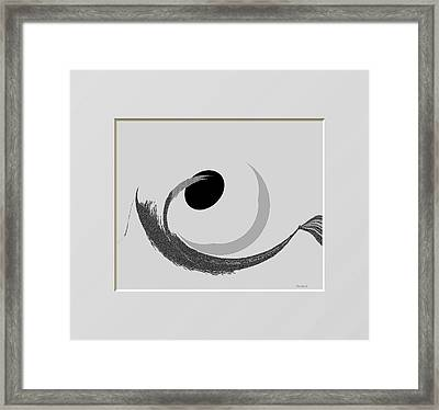 Ab-bb-b Framed Print by Ines Garay-Colomba