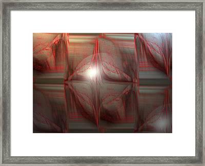 Ab-cc Framed Print by Ines Garay-Colomba