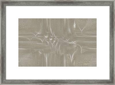Ab-w1 Framed Print by Ines Garay-Colomba