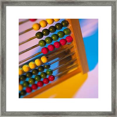 Abacus Framed Print by Mark Sykes