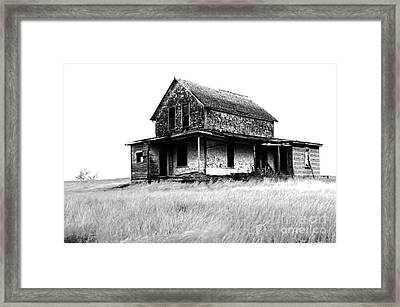Abandoned And Alone Framed Print by Bob Christopher