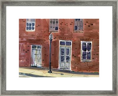 Abandoned Building Framed Print by Donald Maier