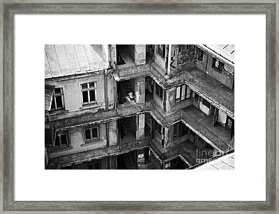 Abandoned Building Framed Print by Gabriela Insuratelu