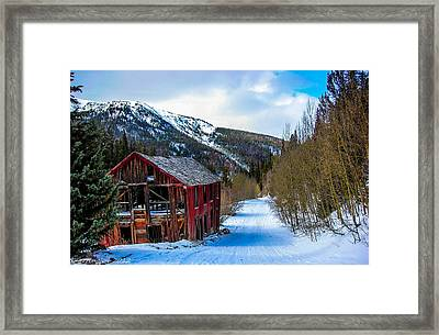 Abandoned Building Framed Print by Shannon Harrington