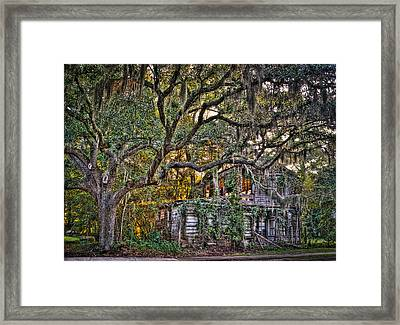 Abandoned But Not Forgotten Framed Print