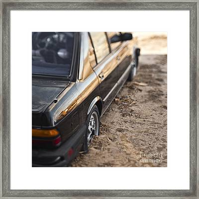 Abandoned Car Framed Print by Eddy Joaquim