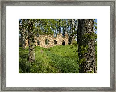 Framed Print featuring the photograph Abandoned Cider Mill by Jim Moore