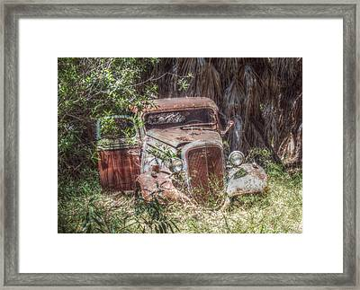 Abandoned Framed Print by Cindy Nunn