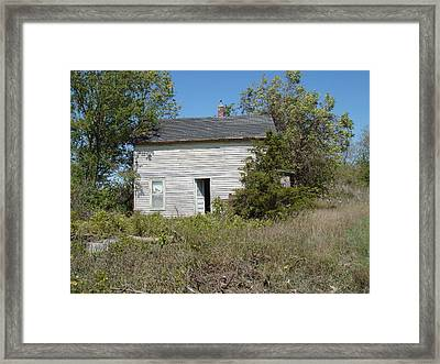 Framed Print featuring the photograph Abandoned by Bonfire Photography
