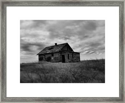 Abandoned Farm B Framed Print