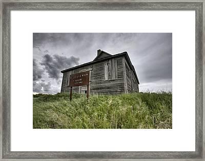 Abandoned Farm Framed Print