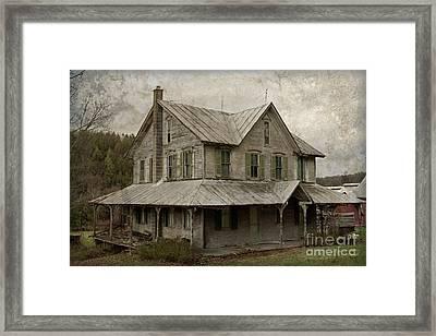Abandoned Homestead Framed Print by John Stephens