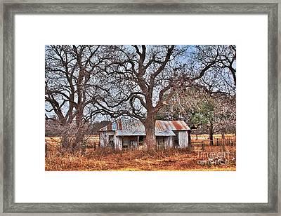 Abandoned House 512.3 Framed Print by Joe Finney