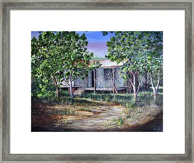 Abandoned House Framed Print by AnnaJo Vahle