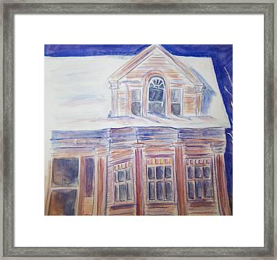 Abandoned House Framed Print by Belinda Lawson