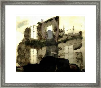 Abandoned House Framed Print by Gun Legler