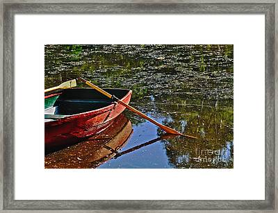 Abandoned Framed Print by Kaye Menner