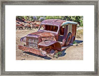 Abandoned Medic Truck Framed Print by Jason Abando