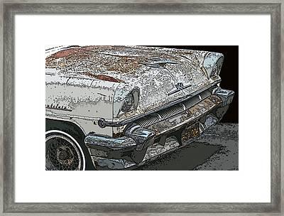 Abandoned Mercury Montclair Framed Print by Samuel Sheats
