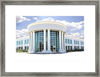 Abandoned Offices Framed Print by Kenneth Mucke
