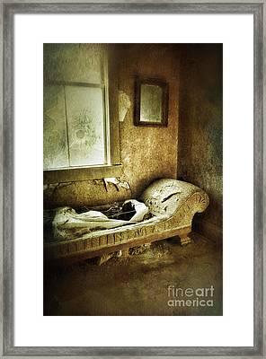 Abandoned Parlor Framed Print by Jill Battaglia