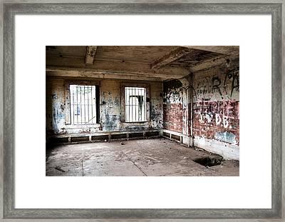 Abandoned Room Framed Print