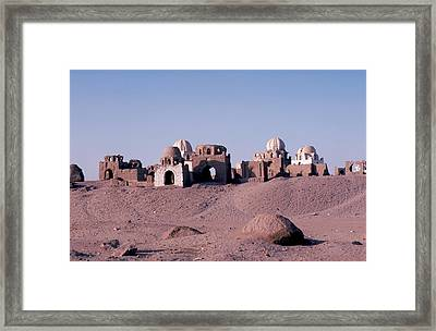 Abandoned Ruins In Afghanistan Framed Print by Carl Purcell
