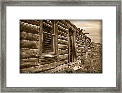 Abandoned Framed Print by Shane Bechler