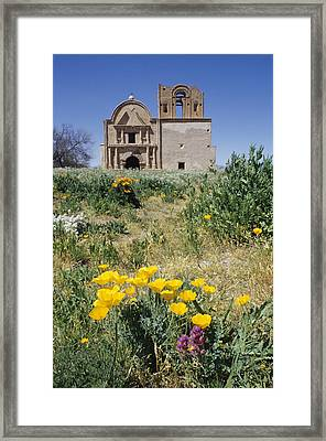 Abandoned Spanish Colonial Mission Framed Print by Rich Reid