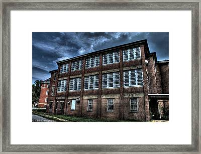 Abandoned Views Framed Print by Heather  Boyd