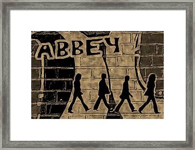 Abbey Framed Print by ABA Studio Designs