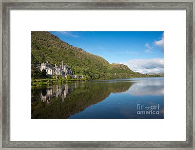 Abbey On The Lake Framed Print by Andrew  Michael