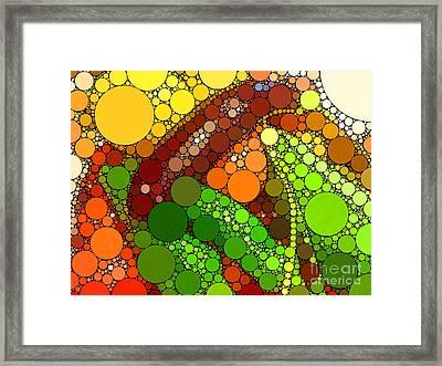 Abbondanza Framed Print by Christine Segalas