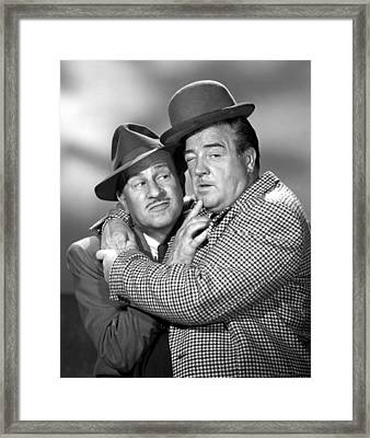 Abbott And Costello Show, The, Bud Framed Print