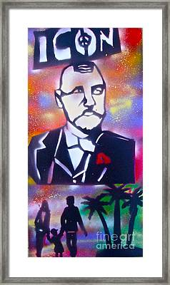 Abbott Kinney Framed Print by Tony B Conscious