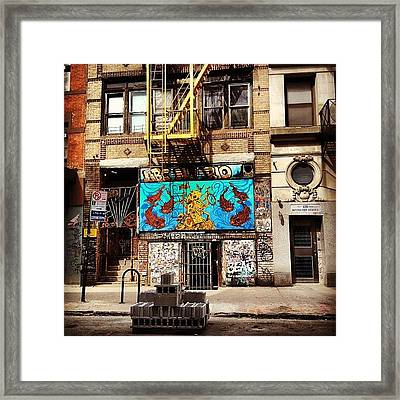 Abc No Rio - Lower East Side - New York City Framed Print by Vivienne Gucwa